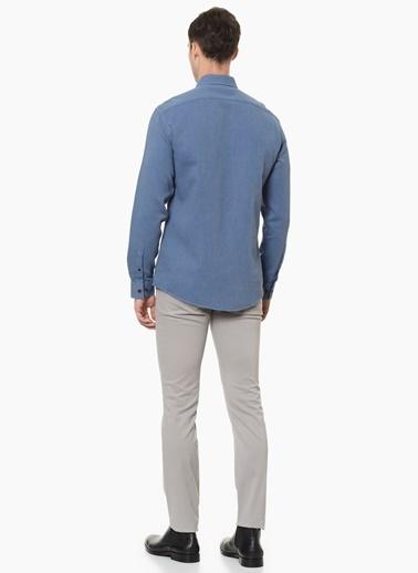 George Hogg Gömlek Mavi